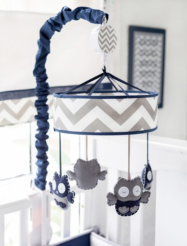 - Navy And Gray Crib Mobile Navy Crib Mobile Gray Baby Mobile