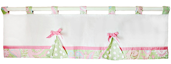Pixie Baby in Pink Curtain Valance