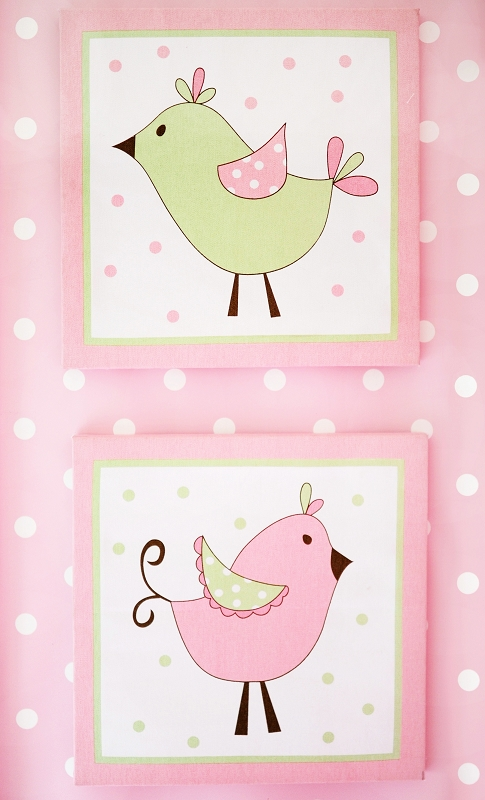 Pixie Baby in Pink Wall Decor