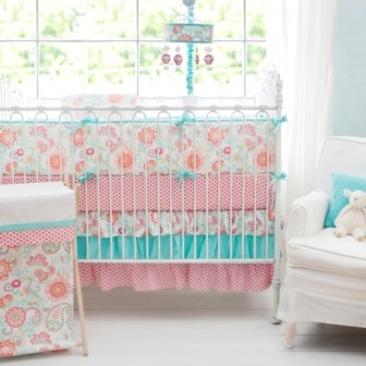 Paisley Baby Bedding | Gypsy Baby Crib Collection
