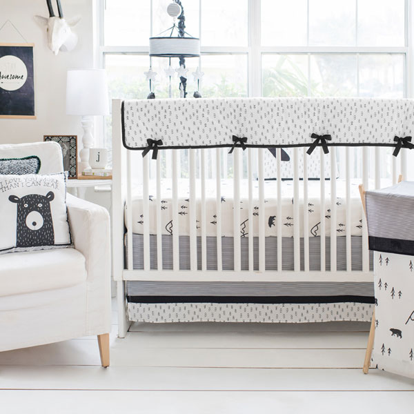 3 and 4 Piece Crib Bedding Collections
