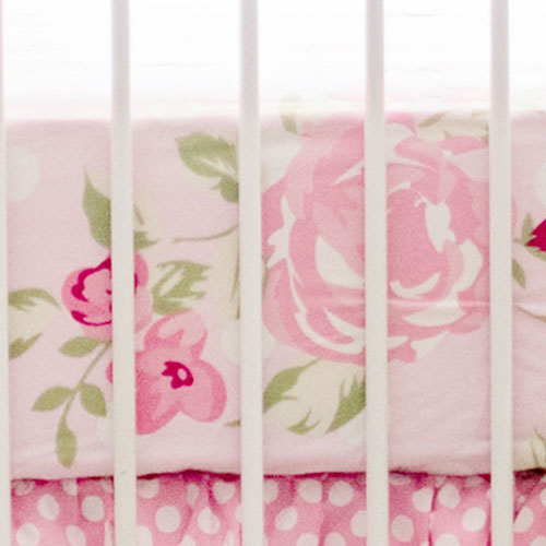 Rosebud Lane Crib Sheet | Rosebud Lane Crib Collection