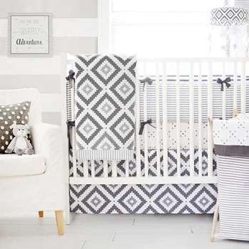 Grey Crib Set | Imagine Collection
