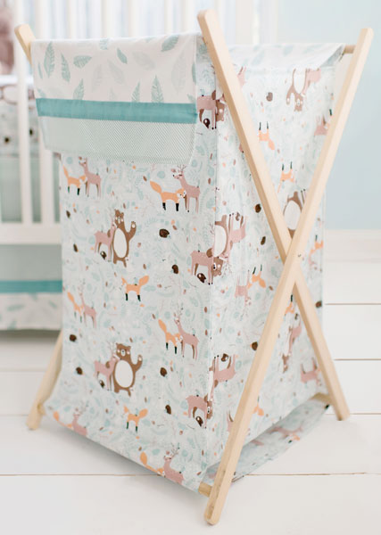 Woodland Nursery Hamper | Forest Friends Bedding Collection