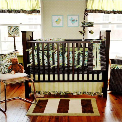 how to put a mobile on a crib