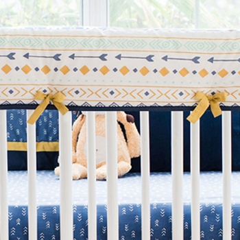 Aztec Crib Rail Cover | Desert Sky Collection