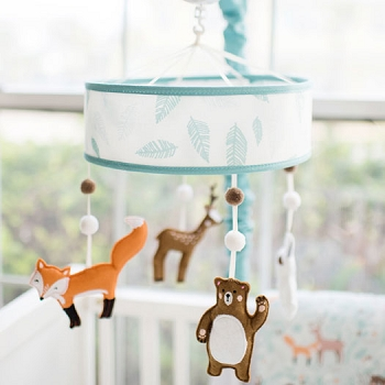 Woodland Crib Mobile  | Forest Friends Crib Collection