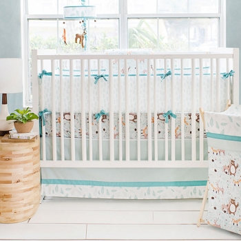 Woodland Crib Bedding | Forest Friends Collection