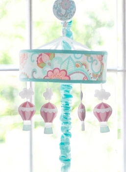 Hot Air Balloon Baby Mobile | Gypsy Baby Crib Collection
