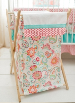 Paisley Nursery Hamper | Gypsy Baby Crib Collection