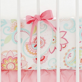 Paisley Crib Sheet | Mix & Match Baby Bedding Collection
