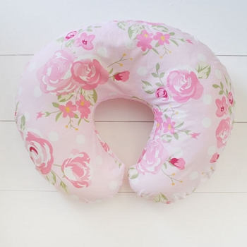 Floral Nursing Pillow Cover | Rosebud Lane Crib Collection