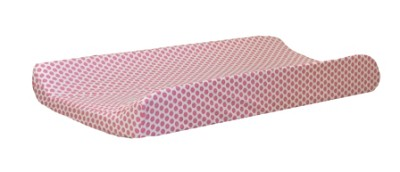 Pink Polka Dot Changing Pad Cover | Gypsy Baby Paisley Collection