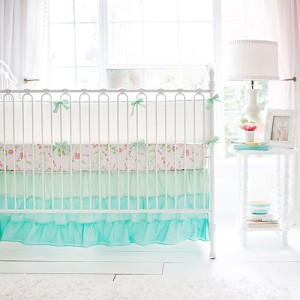 Mix and Match Mint Baby Bedding