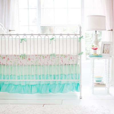 Baby Girl Bedding | Mix and Match Mint